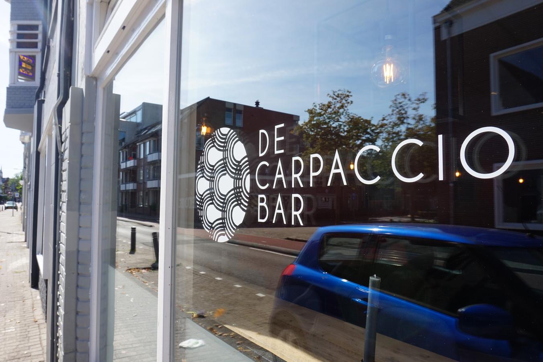 De Carpacciobar aan de Koestraat.