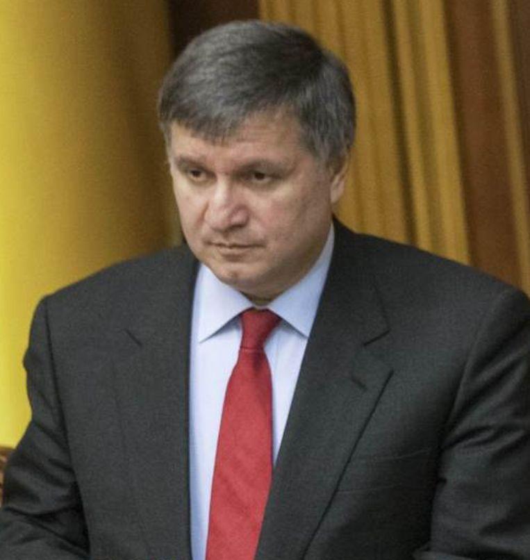 Minister van Binnenlandse Zaken Arsen Avakov. Beeld REUTERS