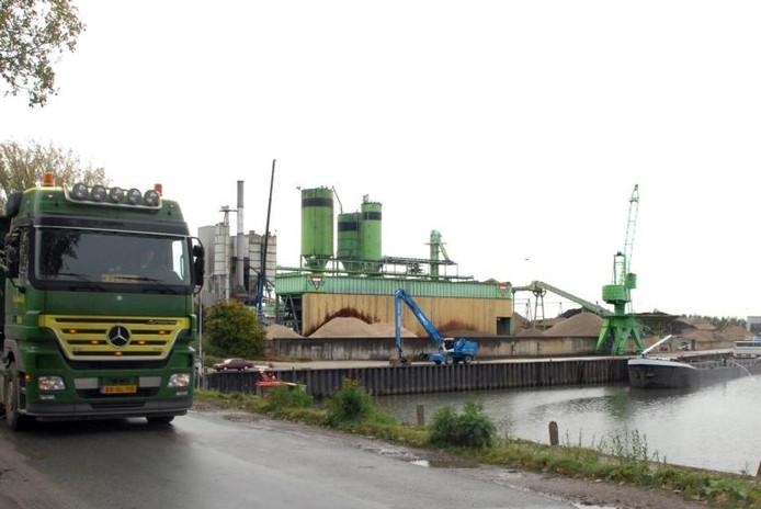 Het terrein van Bruil in Wageningen.