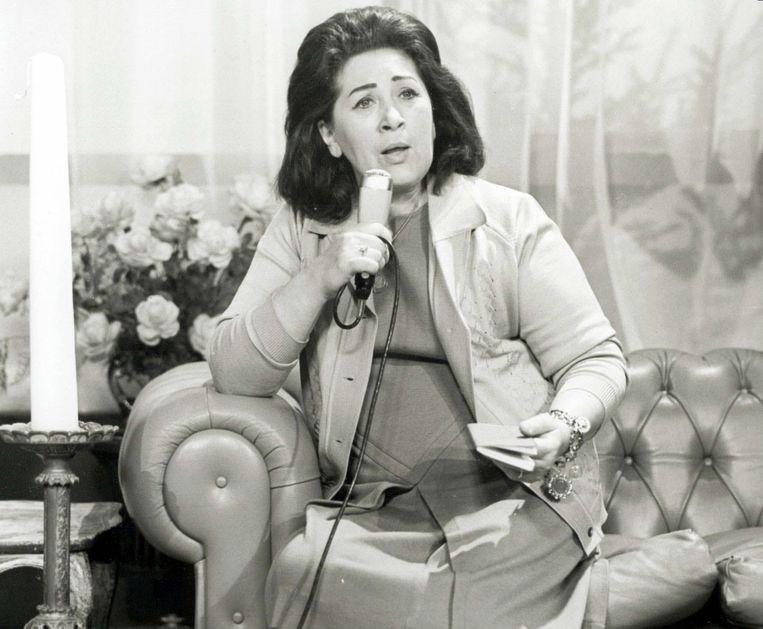Mary Servaes-Bey, de Zangeres zonder Naam. Beeld