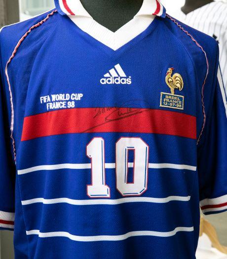 Un maillot de Zidane vendu plus de 100.000 dollars