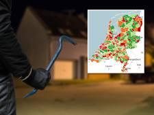 Misdaadmeter: Limburg vier keer in top 10