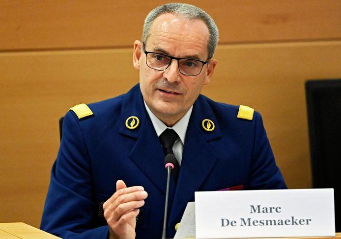 Politiechef Marc De Mesmaeker.