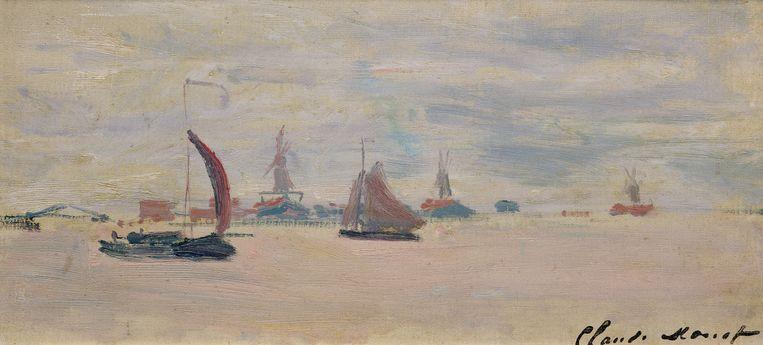 De Voorzaan door Claude Monet. Beeld RV