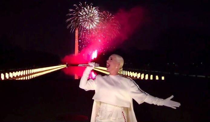 Popfenomeen Katy Perry mocht het concert afsluiten.