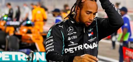 """Des symptômes """"relativement bénins"""" pour Lewis Hamilton"""
