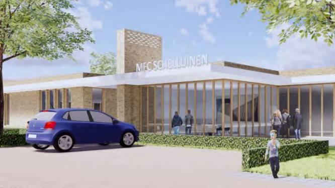 'Multifunctioneel centrum Schelluinen' gaat hem niet worden, wie verzint een betere naam?