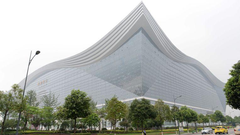Het New Century Global Center in het Chinese Chengdu is het grootste gebouw ter wereld. Beeld null