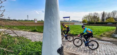Groen licht voor toertocht langs grenspalen, met wielrenners Van Emden en Tankink