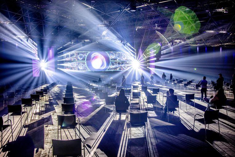 RAI Amsterdam verlaagt de drempel voor organisatoren en opdrachtgevers om weer evenementen te gaan organiseren tot wel 1175 bezoekers. Beeld Jean-Pierre Jans