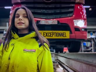 Ooit modeontwerpster, nu vrachtwagenchauffeur: Yvonne (28) opvallend nieuw gezicht in Lady Truckers