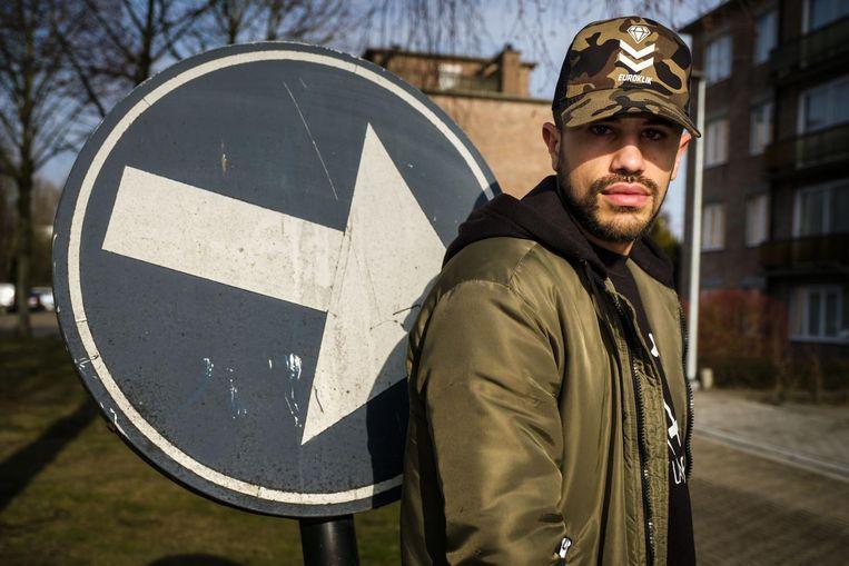 De Belgische rapper met Portugese roots Porto.