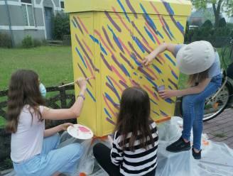 Leerlingen Kunstacademie versieren tien elektriciteitskastjes