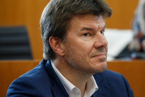 Brussels minister van Financiën Sven Gatz (Open Vld).