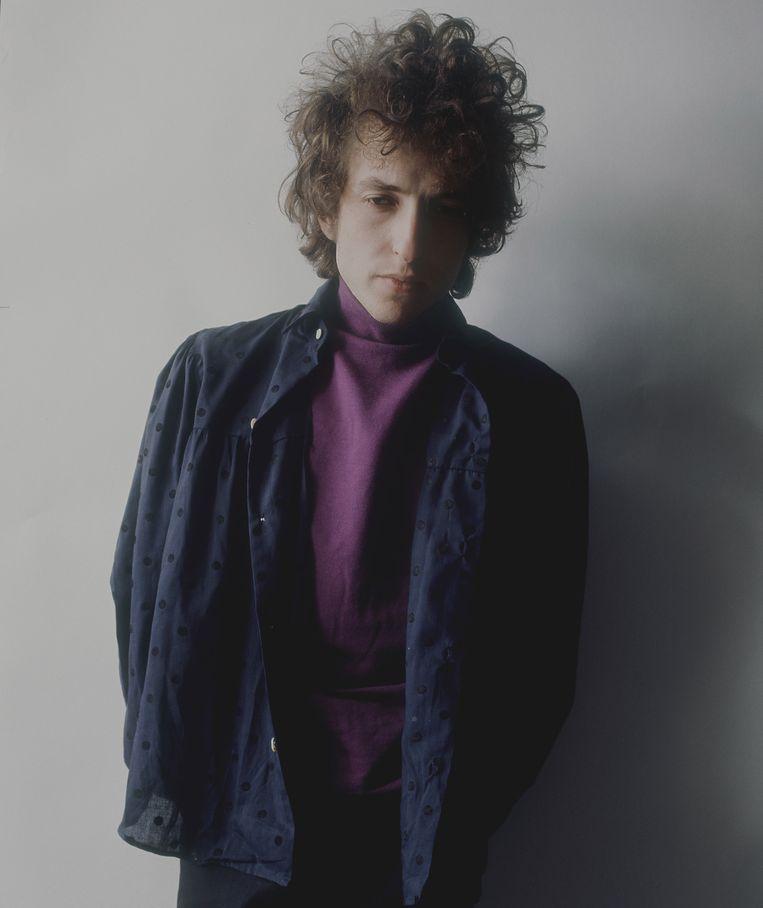 Archiefbeeld: een jonge Bob Dylan.