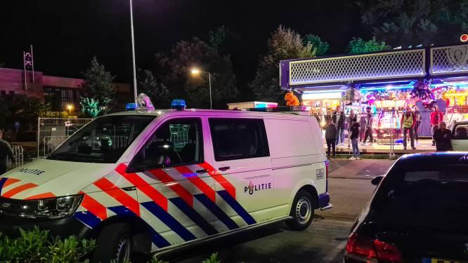 Jongeren op de vuist bij de kermis in Nijkerk, politie grijpt in