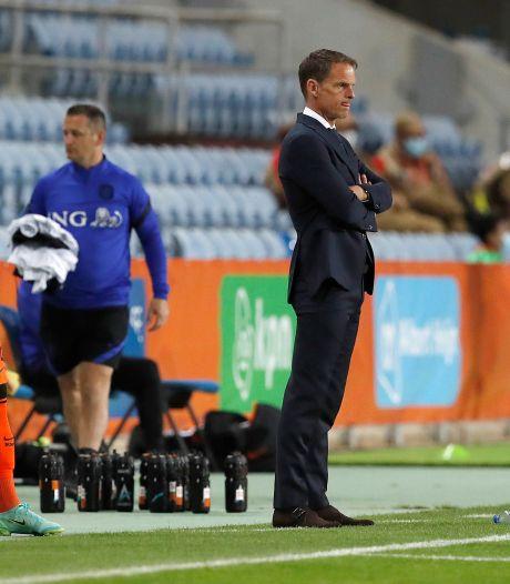 Frank de Boer verspreekt zich opnieuw: 'Queensy Menig optie voor rechtsbuiten'