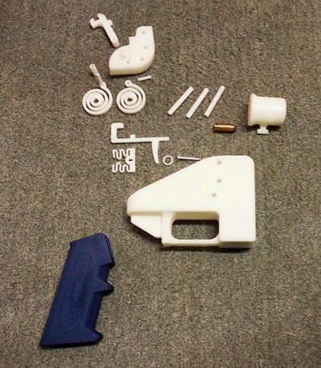Grootschalig onderzoek naar nieuw fenomeen in Nederland: dodelijke 3D-geprinte vuurwapens