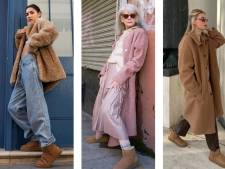Les Uggs font leur grand retour aux pieds des fashionista's