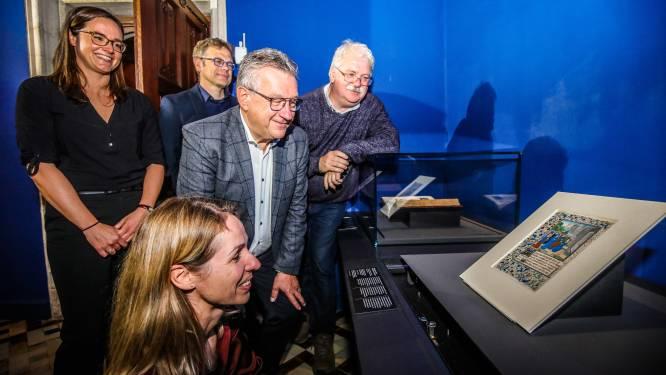 Ooit in het bezit van twee Franse koningen, nu voor 35.000 euro weer in handen van Brugge