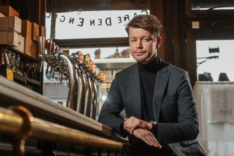 Matthias De Caluwe, CEO van Horeca Vlaanderen: 'Onze horeca-uitbaters zijn moe en willen gewoon weer ondernemen.' Beeld