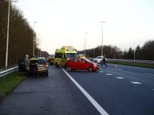 Ongeval op de N50 bij Heerde-Zuid