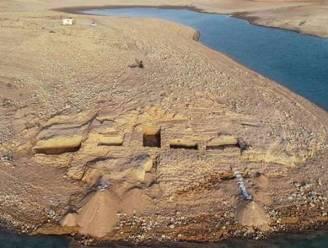 Droogte legt 3.400 jaar oud paleis bloot in Iraaks Koerdistan