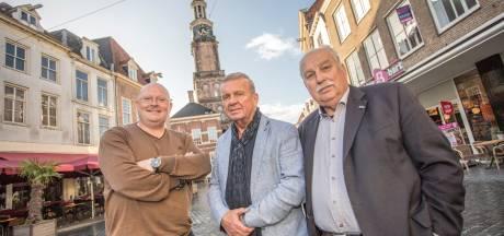 Drie gangmakers van Bokbierdag in Zutphen proosten op hun laatste kunstje