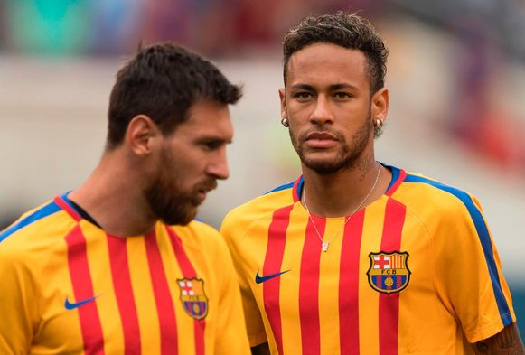 Komt het tot een hereniging tussen Messi en Neymar?