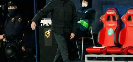 Zidane boos: Dit was geen wedstrijd, het had afgelast moeten worden