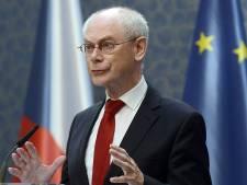 """Van Rompuy """"félicite chaleureusement"""" Letta"""