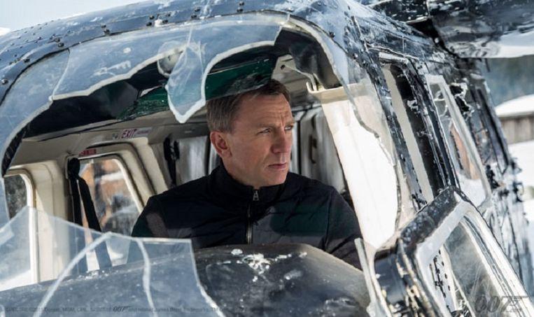 Beeld uit de nieuwe Bond-film Spectre. Beeld