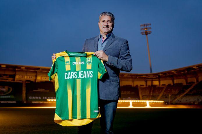 Ruud Brood werd vandaag gepresenteerd als de nieuwe hoofdtrainer van ADO Den Haag.