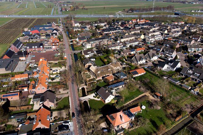 Pal langs de A2 ligt het dorpje Zijderveld.