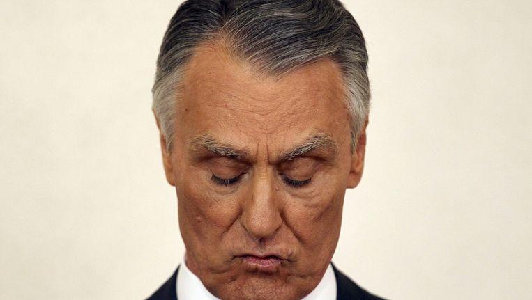 President Aníbal Cavaco Silva Beeld ANP