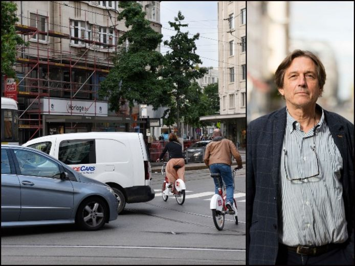 """Mobiliteitsexpert Dirk Lauwers merkt 5 grote veranderingen in Antwerpen na corona: """"Antwerpen is Venetië niet maar er zou meer in vervoer over water moeten geïnvesteerd worden."""""""