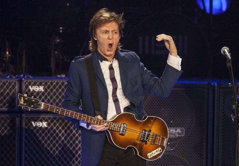 Paul McCartney is een van de grote namen die het initiatief steunen.  Beeld EPA