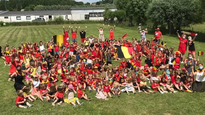 Zwalmse scholen kleuren zwart-geel-rood