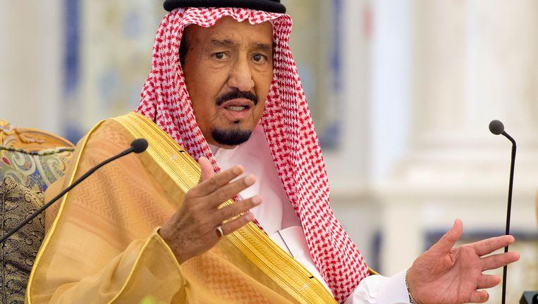 De Saoedische koning Salman bin Abdulaziz Al Saud.