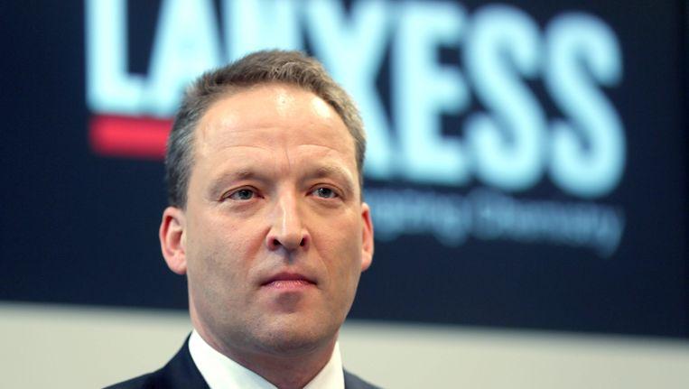 Matthias Zachert, de nieuwe CEO van Lanxess.