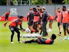 Eerste training FC Utrecht: nieuwe gezichten, maar Mahi en Douvikas ontbreken nog