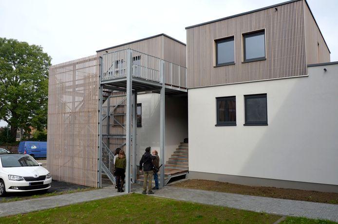 Six nouveaux logements de transit au Cours Garibaldi à Marcinelle (Charleroi)