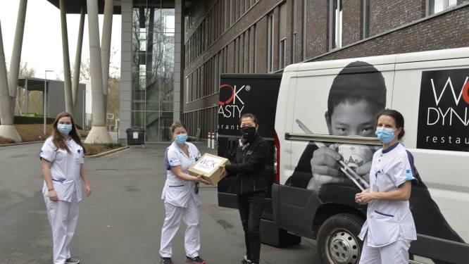 Wok Dynasty Latem verwent personeel AZ Maria Middelares met gratis maaltijd