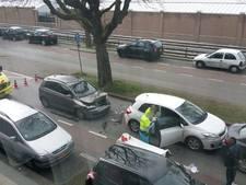 Gewonde bij ongeluk op De Heemstraat