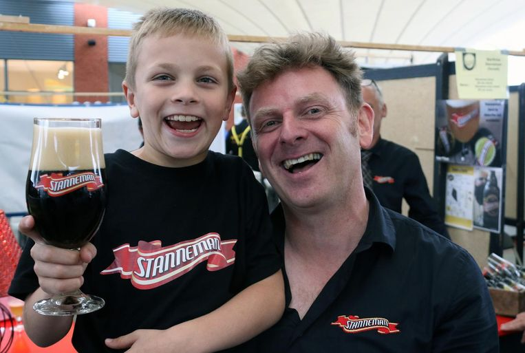 Erwin Vermeulen noemde zijn bier naar zijn zoontje Stan.