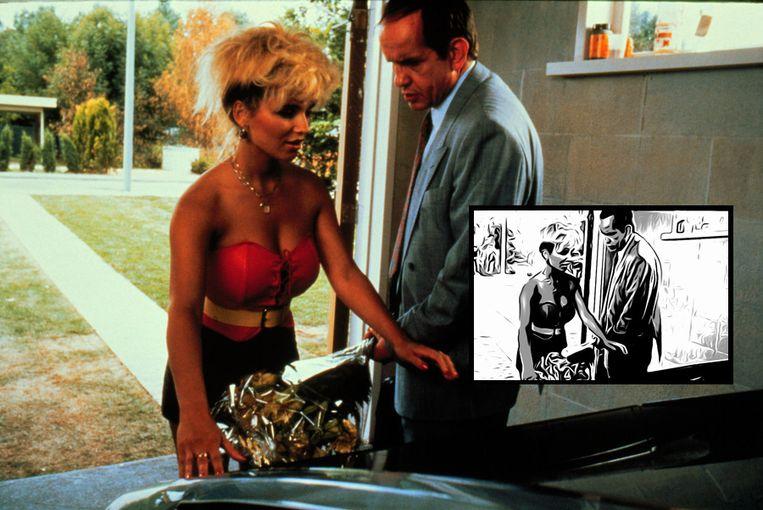 Geen stripbewerking van Flodder. Regisseur Dick Maas geeft geen toestemming. (Fotomontage Persgroep) Beeld null