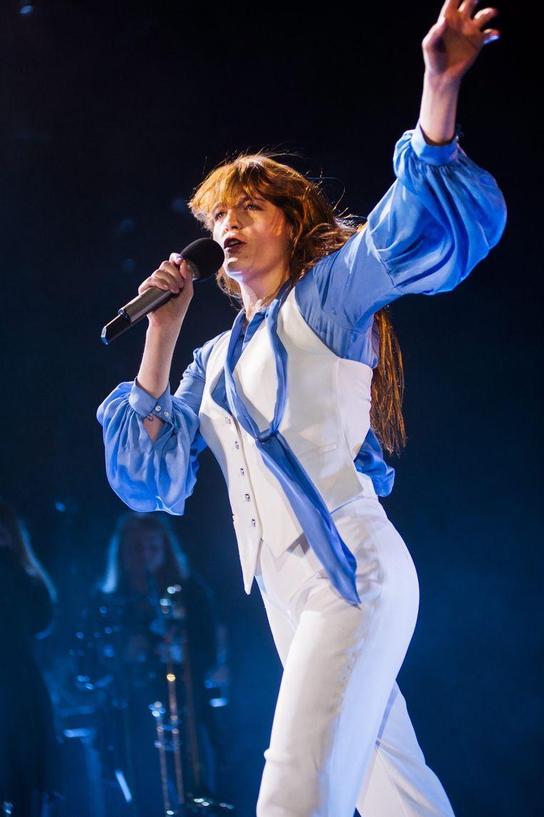 Florence Welch in het Sportpaleis Beeld Alex Vanhee