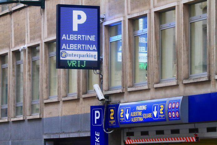 Bruxels   Bruxelles, parking interparking 01/12/2019