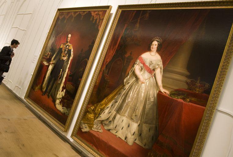 Koning Willem III en Anna Palowna. Foto ANP Beeld