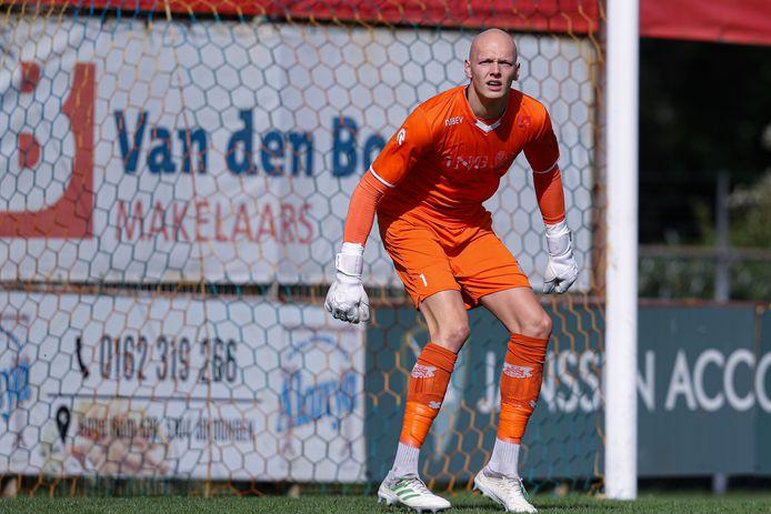 Wessel Sprangers keerde een strafschop namens Dongen.